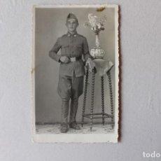 Militaria - FOTOGRAFÍA SOLDADO DE INFANTERÍA, MADRID, 8X13 CM - 92246030