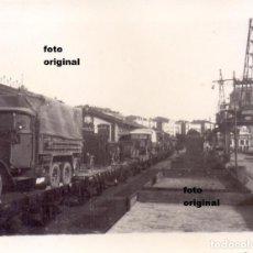 Militaria: DESEMBARCO MATERIAL LEGION CONDOR PUERTO SANTANDER 1937 GUERRA CIVIL. Lote 92270915