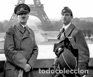 Militaria: FOTOGRAFIA ORIGINAL ARNO BREKER ESCULTOR Y ARQUITECTO DURANTE EL REGIMEN ALEMAN 1933-1945,AÑO 1944, - Foto 3 - 92283450