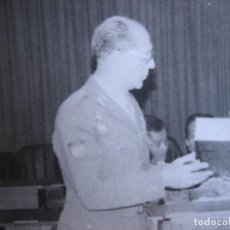 Militaria: FOTOGRAFÍA GENERAL DE BRIGADA DEL EJÉRCITO ESPAÑOL. VETERANO DIVISIÓN AZUL. Lote 95969463