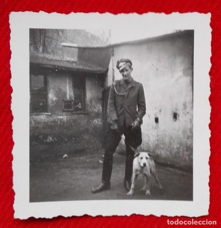 FOTOGRAFIA DE SUBOFICIAL ASPIRANTE A OFICIAL - EJERCITO DEL AIRE LUFTWAFFE - WW2 (Militar - Fotografía Militar - II Guerra Mundial)