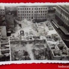 Militaria: FOTOGRAFIA AEREA - PUEBLO ARRASADO POR LOS BOMBARDEOS - SEGUNDA GUERRA MUNDIAL - WW2 . Lote 93173005