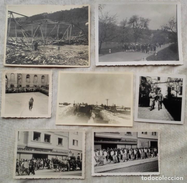 BUEN LOTE DE FOTOGRAFIAS DE LA SEGUNDA GUERRA MUNDIAL - WW2 - TLV (Militar - Fotografía Militar - II Guerra Mundial)