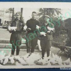 Militaria: FOTOGRAFÍA ANTIGUA ORIGINAL. SOLDADOS. (9 X 7 CM). Lote 93580500