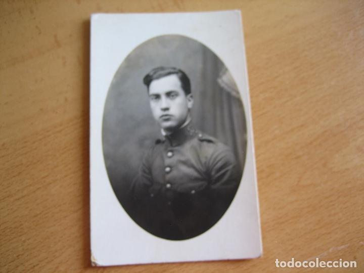 Militaria: Fotografía soldado del ejército español. Regimiento infantería 25 - Foto 2 - 93613465