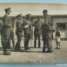 Militaria: FOTO ACTO MILITAR : CORONEL, COMANDANTE , AVANCE EN LA ESCALA, ETC. Lote 93651790