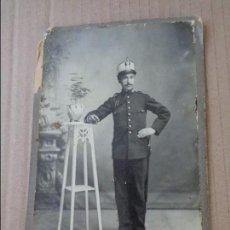 Militaria: FOTOGRAFIA DE MILITAR ---- SOBRE 1915 ---- FOTO DE L. PLANA ( VALENCIA ). Lote 93801070
