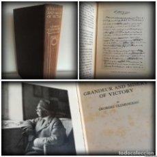 Militaria: GRANDEZAS Y MISERIAS DE UNA VICTORIA - GEORGES CLEMENCEAU, PRIMER MINISTRO FRANCÉS (1930). Lote 93873960