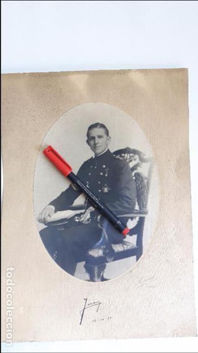 AUTOGRAFO DE DON JUAN DE BORBÓN FOTOGRAFIADO CON UNIFORME DE GUARDIAMARINA EN 1931. FOTO KAULAK. (Militar - Fotografía Militar - Otros)