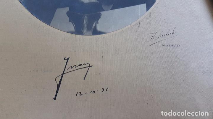 Militaria: Autografo de Don Juan de Borbón fotografiado con uniforme de Guardiamarina en 1931. Foto Kaulak. - Foto 2 - 93938150