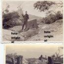 Militaria: TRINCHERAS Y DESTRUCCION FRENTE DEL EBRO GUERRA CIVIL LEGION CONDOR. Lote 93956565