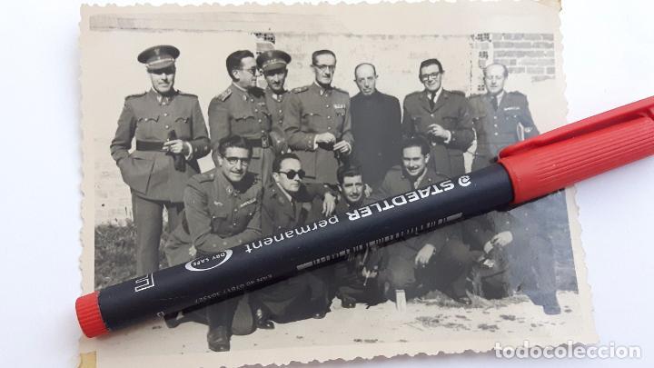 GRUPO DE JEFES Y OFICIALES DEL EJÉRCITO DE TIERRA Y DE AVIACIÓN. AÑO 1948. (Militar - Fotografía Militar - Otros)
