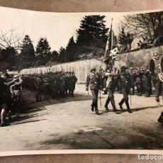 Militaria: FOTO DESFILE SOLDADOS ALEMANES III REICH. Lote 94398755