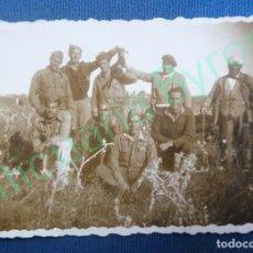 Militaria: FOTOGRAFÍA ANTIGUA ORIGINAL. SOLDADOS. GUERRA CIVIL. . Lote 94645571