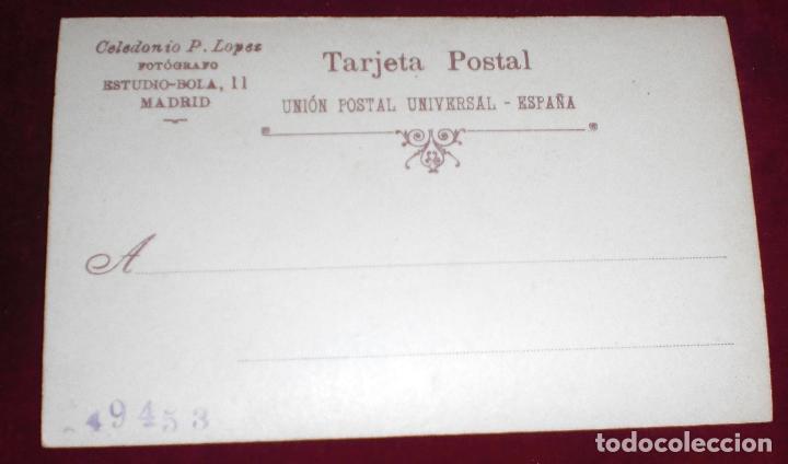 Militaria: Antigua fotografia postal soldado 40 regimiento infanteria guerra cuba - Foto 2 - 94691675