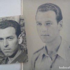 Militaria: AVIACION ALEMANIA: 2 FOTOS MIEMBRO LUFTWAFFE , UNA DE JOVEN EN ESPAÑA LEGION CONDOR. Lote 94905023