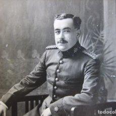 Militaria: FOTOGRAFÍA COMANDANTE DEL EJÉRCITO ESPAÑOL. GUERRA DE MARRUECOS. Lote 95007243