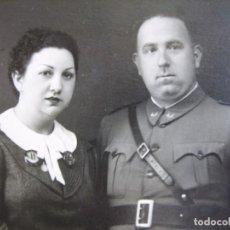 Militaria: FOTOGRAFÍA CAPITÁN CABALLERÍA DEL EJÉRCITO NACIONAL. VALLADOLID 1938. Lote 95079635