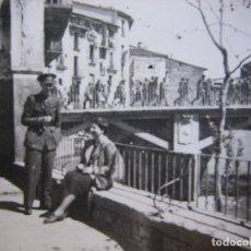 Militaria - Fotografía capitán provisional del ejército nacional. Guerra Civil - 95081151