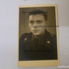 Militaria: CARRISTA PANZER DIVISION SOLDADO ALEMÁN FOTO ORIGINAL SEGUNDA GUERRA MUNDIAL. Lote 95448783