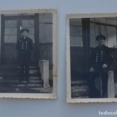 Militaria: 2 FOTOGRAFIAS ALEMANAS 2ªGM .GEFREITER DE LA KRIEGSMARINE . ORIGINAL 100 %. Lote 95541023