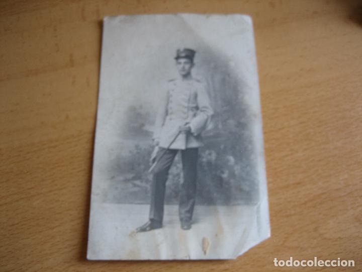 Militaria: Fotografía cadete del ejército español. Academia - Foto 2 - 95570643