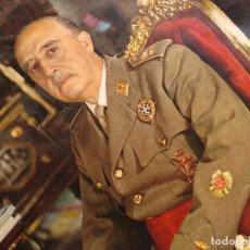 Militaria: FOTOGRAFIA RETRATO OFICIAL GENERALISIMO FRANCO. CAUDILLO.. Lote 95582383