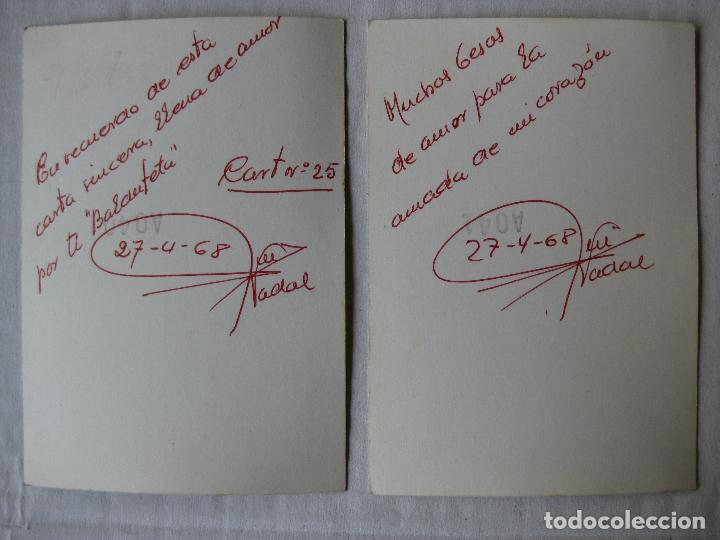 Militaria: 2 FOTOGRAFIAS SOLDADOS INSTRUCCION CARTAGENA AÑO 1968 - Foto 4 - 95805199
