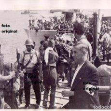 Militaria: VUELTA A LA DEFENSA DE MADRID TRAS ASALTAR MALLORCA MILICIAS POPULARES GUERRA CIVIL. Lote 95948895
