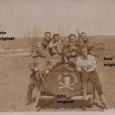 Militaria: PILOTOS AVIACION LEGIONARIA ITALIANOS AERODROMO SUR GUERRA CIVIL ESPAÑOLA. Lote 95949719
