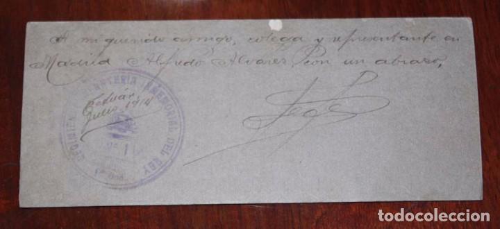 Militaria: FOTOGRAFIA DE SOLDADO DEL REGIMIENTO DE INFANTERIA INMEMORIAL DEL REY N.1, TETUAN JULIO DE 1914, FOT - Foto 2 - 95985675
