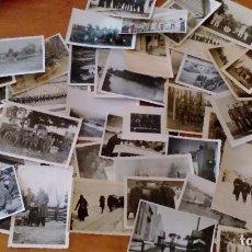 Militaria: FOTOGRAFÍAS WEHRMACHT DIFERENTES AÑOS. 50 FOTOGRAFÍAS. Lote 96095495