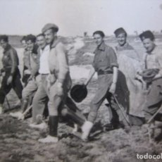 Militaria: FOTOGRAFÍA MOROS REGULARES Y OFICIALES DEL EJÉRCITO NACIONAL. CEUTA. Lote 96339951