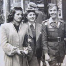 Militaria: FOTOGRAFÍA CARRISTA LEGIONARIO DEL EJÉRCITO ESPAÑOL. MADRID 1943. Lote 96389907