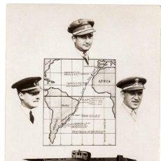 Militaria: POSTAL AERONÁUTICA RECUERDO DEL RAID AÉREO 1926 ESPAÑA- BUENOS AIRES. Lote 96551347