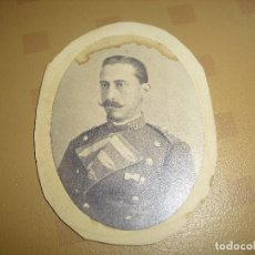 Militaria: ANTIGUA FOTO MILITAR REGIMIENTO 30 FOTO E. JULIA MADRID. Lote 96565371