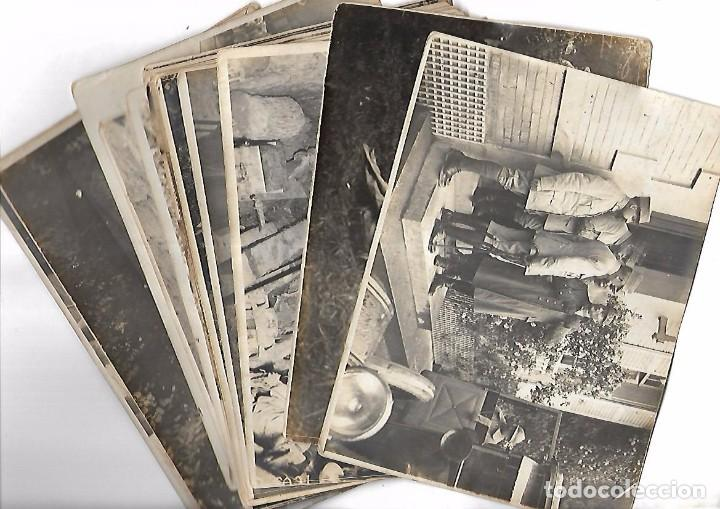 LOTE DE FOTOS DEL GENERAL AMERICANO HUMBERT ENTRE ELLAS PETAIN, INFREVILLE. LEER DORSO (Militar - Fotografía Militar - I Guerra Mundial)