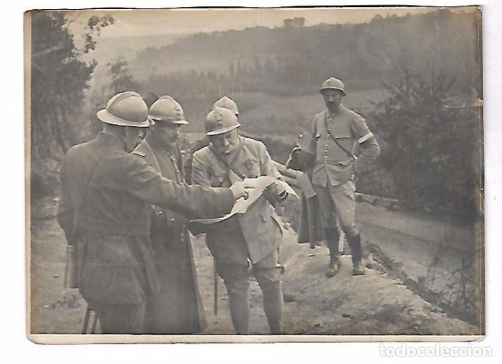 Militaria: LOTE DE FOTOS DEL GENERAL AMERICANO HUMBERT ENTRE ELLAS PETAIN, INFREVILLE. LEER DORSO - Foto 8 - 112519887
