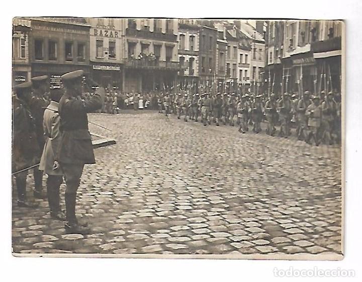 Militaria: LOTE DE FOTOS DEL GENERAL AMERICANO HUMBERT ENTRE ELLAS PETAIN, INFREVILLE. LEER DORSO - Foto 30 - 112519887