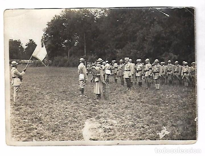 Militaria: LOTE DE FOTOS DEL GENERAL AMERICANO HUMBERT ENTRE ELLAS PETAIN, INFREVILLE. LEER DORSO - Foto 34 - 112519887