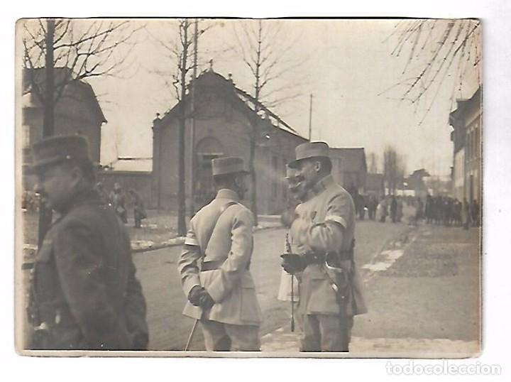Militaria: LOTE DE FOTOS DEL GENERAL AMERICANO HUMBERT ENTRE ELLAS PETAIN, INFREVILLE. LEER DORSO - Foto 44 - 112519887