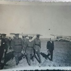 Militaria: GUERRA CIVIL,FOTO HISTÓRICA,GENERALES MOLA,SALIQUET,CABANELLAS,QUEIPO DE LLANO,REUNIÓN EN MADRID . Lote 96750684