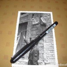 Militaria: FOTO FALANGE FALANGISTA EN BURRIANA CASTELLON CALLE SOLER MARTÍ HISTORICA Y PRECIOSA . Lote 96753559