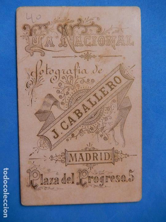 Militaria: Fotografía Militar. Soldados Ingenieros. J. Caballero. Madrid. - Foto 4 - 96993363