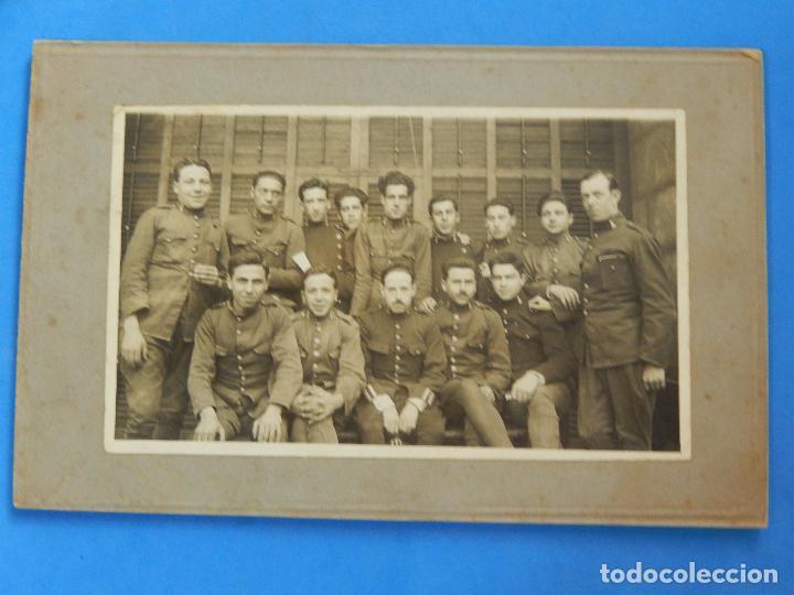 ANTIGUA FOTOGRAFÍA. SOLDADOS DE INGENIEROS. (Militar - Fotografía Militar - Otros)
