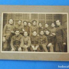 Militaria: ANTIGUA FOTOGRAFÍA. SOLDADOS DE INGENIEROS.. Lote 96994983