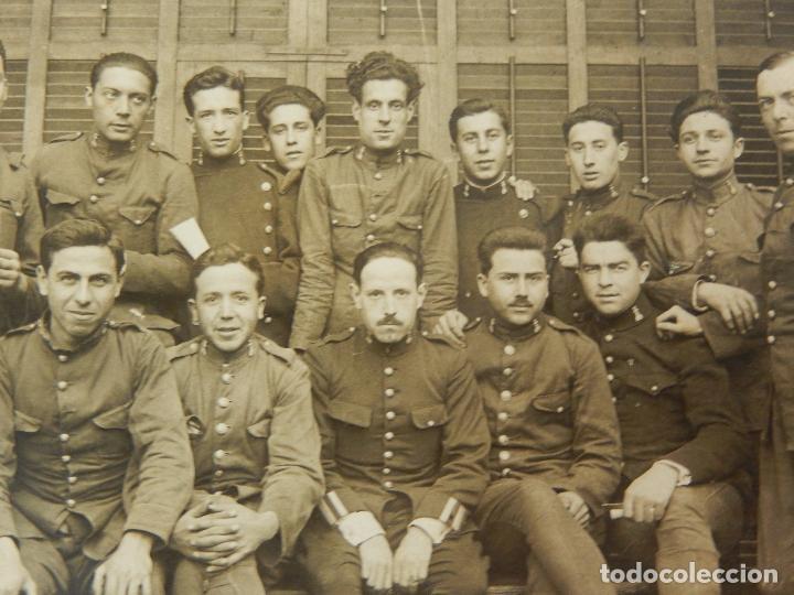 Militaria: Antigua fotografía. Soldados de Ingenieros. - Foto 2 - 96994983
