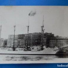 Militaria: FOTOGRAFÍA DE PRENSA. EL JUAN SEBASTIÁN EL CANO, EN SANTANDER. EUROPAPRESS.. Lote 96995503