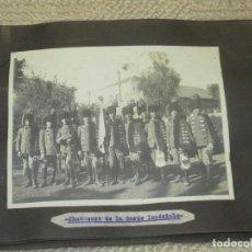 Militaria: ALBUM CON 12 FOTOGRAFÍAS DE 1923, GRUPOS MILITARES, SOLDADOS FRANCESES EN UNIFORMES DE ÉPOCA. Lote 97220343
