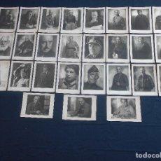 Militaria: LOTE DE 27 LAMINAS FOTOGRAFICAS DE JALON ANGEL DE LOS FORJADORES DEL IMPERIO 1938. Lote 97291095